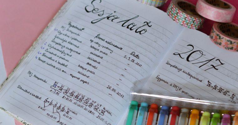 Bullet Journal dla studentów