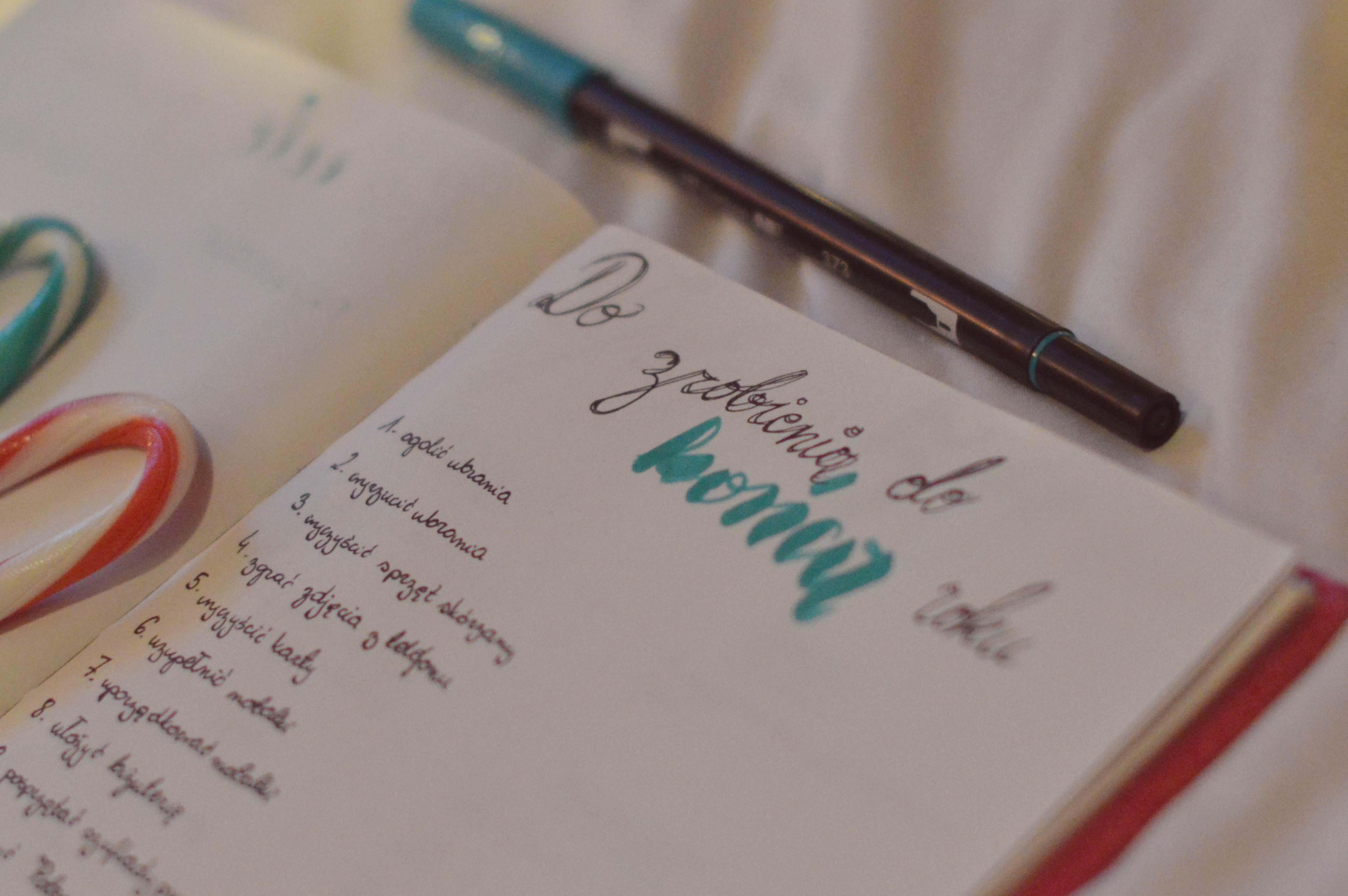 15 rzeczy, które chcę zrobić do końca 2017 roku