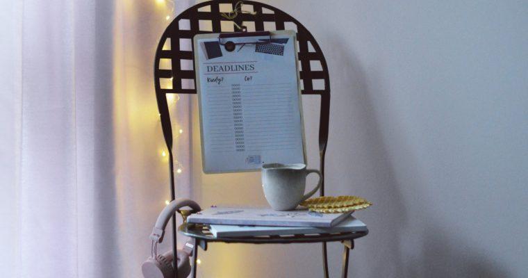 Jak zapanować nad ważnymi terminami? + planner do druku