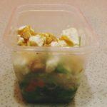 Co na uczelnię? #20 - sałatka z makaronem ryżowym