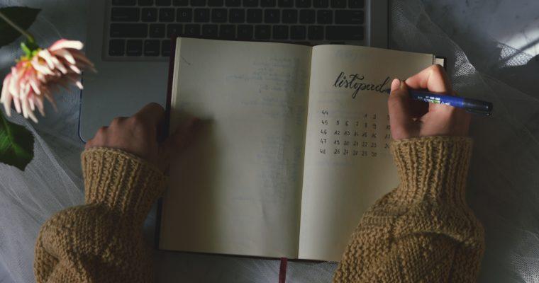 Jak planuję miesiąc? + listopadowe bujo
