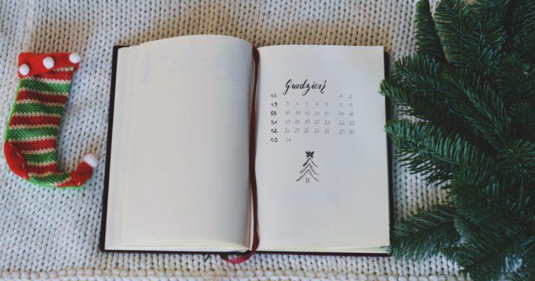 Moje plany na grudzień + bullet journal